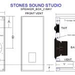 2 Way Speaker Box Design