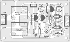 Active Speaker Protector Component Layout