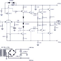 200W Power Amplifier Using Transistor