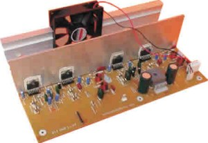 300W RMS Stereo Power Amplifier Project