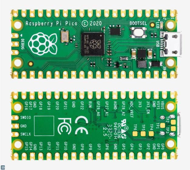Raspberry-Pi-RP2040-Pico-PCB-Top-Bottom-1