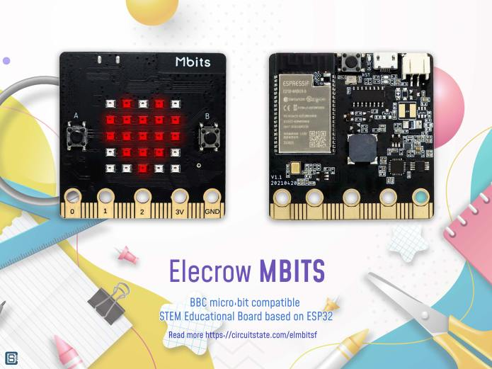 Elecrow-Mbits-Micro-Bit-Compatible-STEM-Education-Board-based-on-ESP32-SoC-Featured-01-3-1