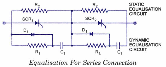 SCR-Series And Parallel Connections