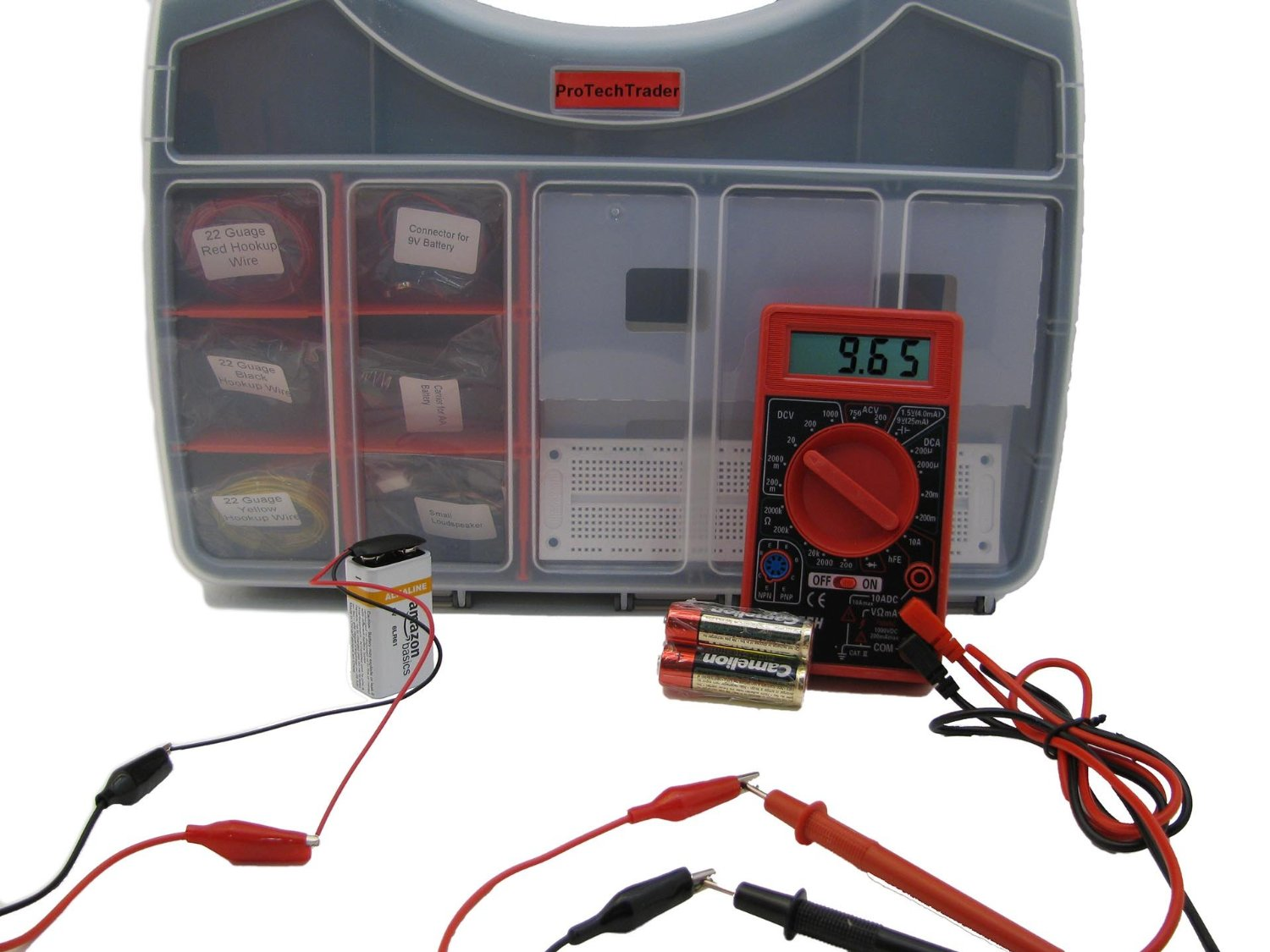 Electronic Component Kit For Beginners-ProTechTrader-Review