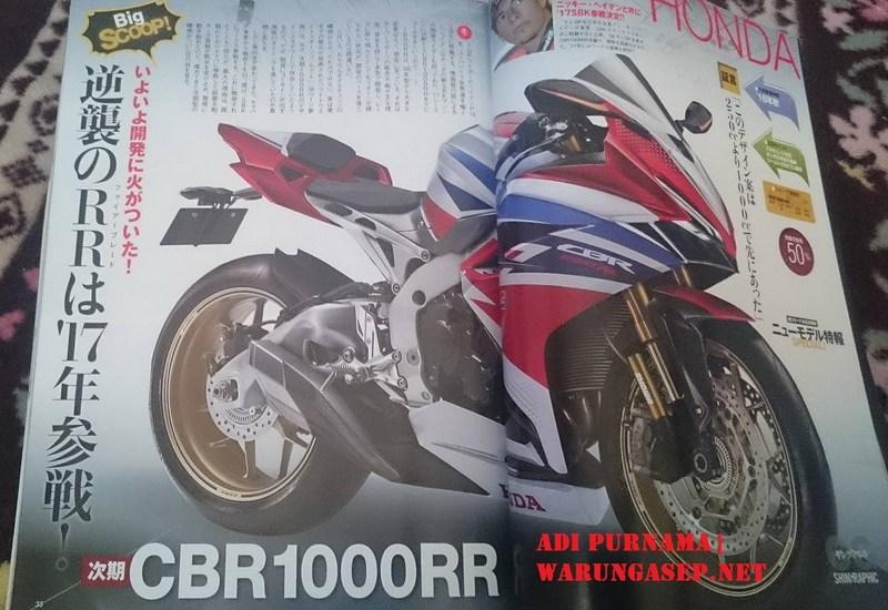 New CBR1000RR Render