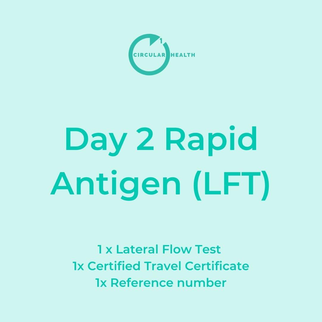 Day 2 LFT, Circular1 Health