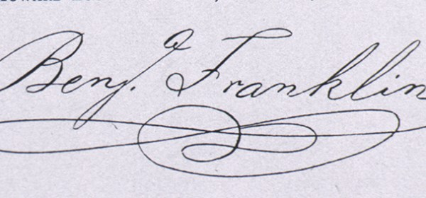 Benjamin Franklin's Signature