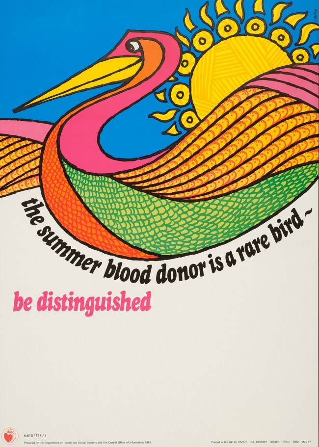 the summer blood donor is a rare bird - be distinguished