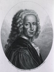 portrait of Bernhard Siegfried Albinus in a wig