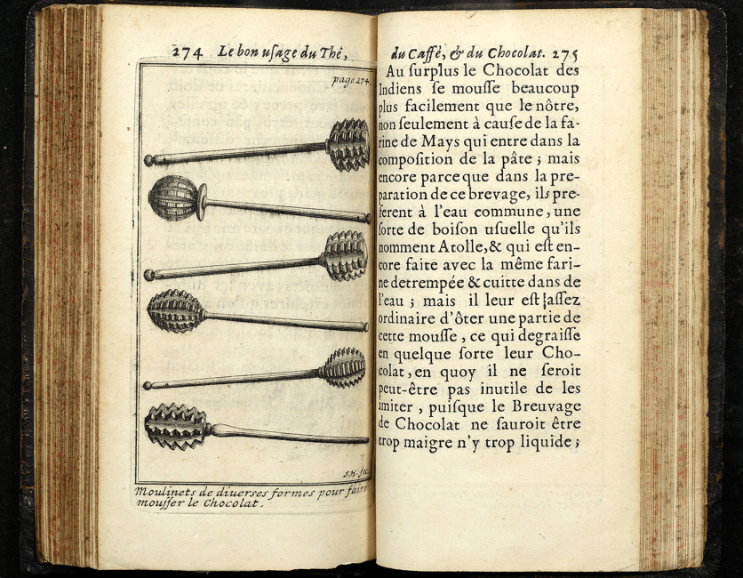 Illustration of 6 similar macelike wands with round spiky ends.