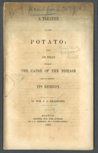 The cover of the pamphlet diseases of the pototo.