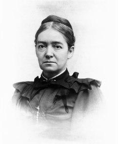 A vinette photograph of Mary Putnam Jacobi.