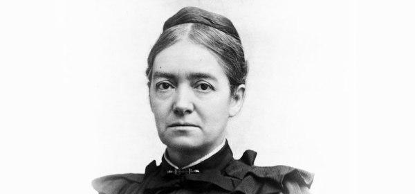 A vignette photograph of Mary Putnam Jacobi.