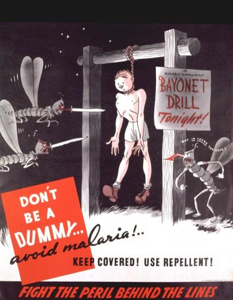 Malaria prevention poster