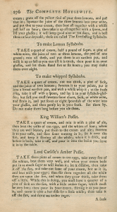 Page 276 of The compleat housewife.