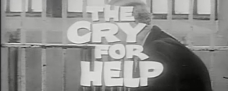 The Cry for Help title still.