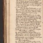 Handwritten page of a book with the heading: for the Kings Evil.