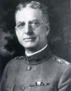 Portrait of a man in uniform.