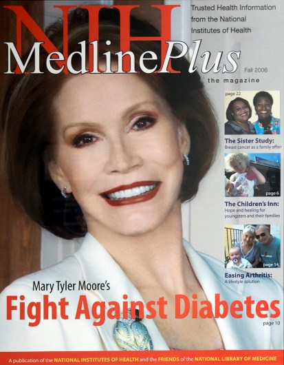 The cover of MedlinePlus magazine, Fall 2006