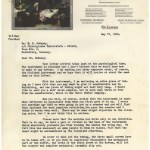 A typewritten letter on A.S. Aloe Company letterhead seeking DeBakey's approval of the finished product and making plans for marketing and sales.