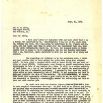 A typewritten letter defending the quality and appearance of the instrument and justifying the proposed retail price.