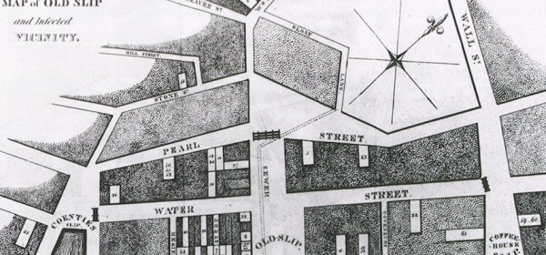 A street map of New Orleans.