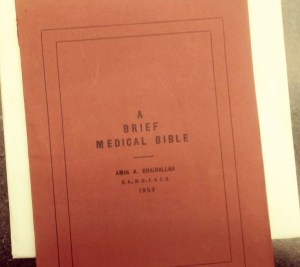 The cover of a short pamphlet.