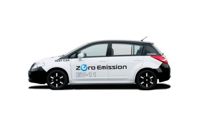 Nissan Electric concept exterieur 2