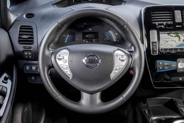 Nissan Leaf phase2 interieur 1