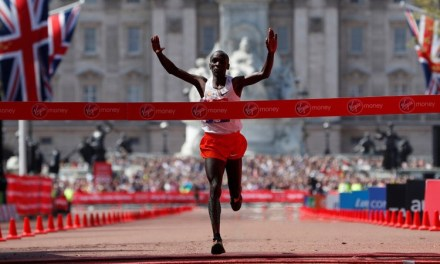KIPCHOGE AND CHERUIYOT ENSURE KENYAN DOUBLE AT LONDON MARATHON