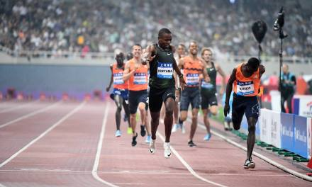 SHANGHAI 800M WINNER KISASY: 'I PLAN TO RUN UNDER 1:43 THIS YEAR'