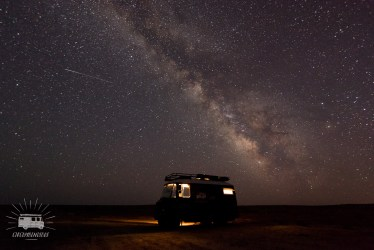 Desert, remoteness: Milky Way above the Silk Road