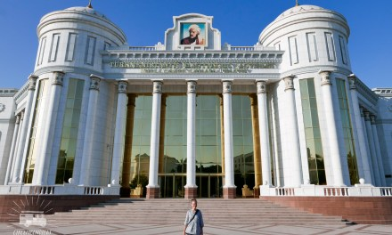 Transiting unknown Turkmenistan