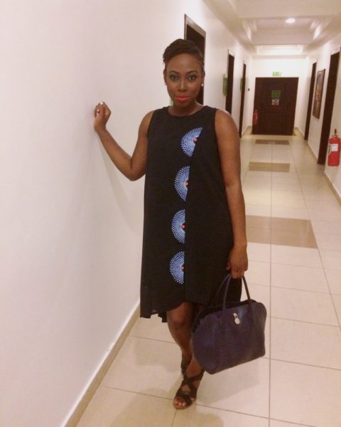 At the Imperial Leather launch, wearing Poqua Poqu. MUA: Glow With Maj.