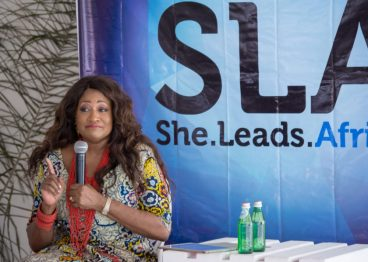 Michelle McKinney Hammond at She Hive Accra / She Leads Africa