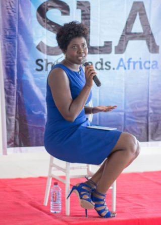 Roberta Annan at She Hive Accra / Photo Credit: SLA