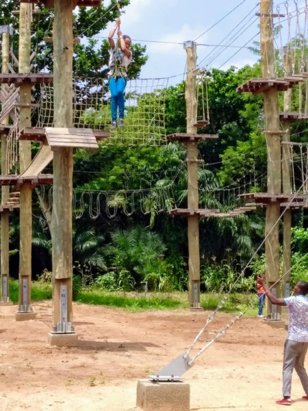 Annatu Abdulai - Legon Botanical Gardens Rope Course