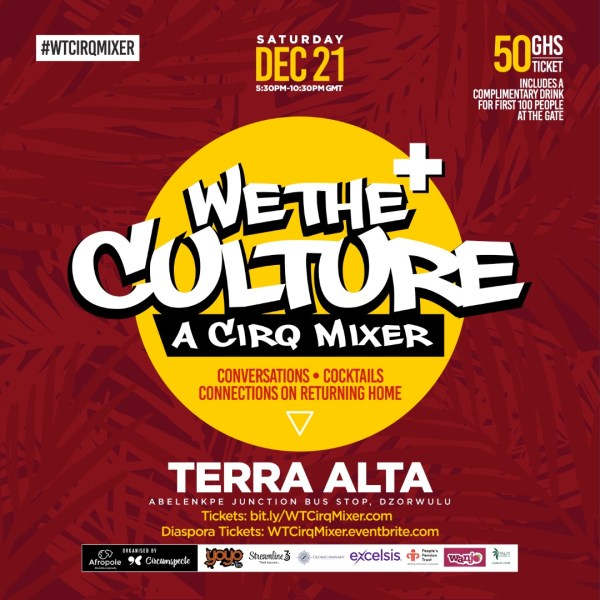 We The Culture CirqMixer - year of return Ghana