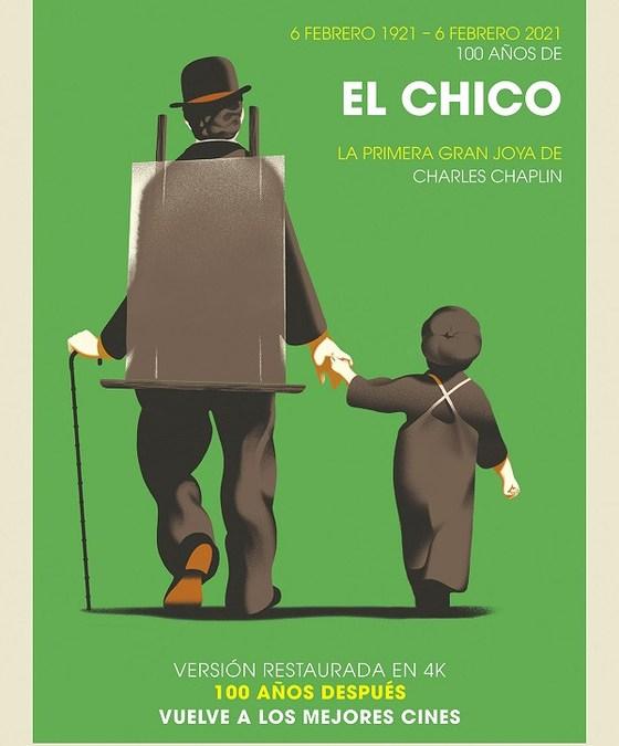100 AÑOS DE 'EL CHICO' de Charles Chaplin
