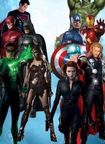 Decoracion de superheroes
