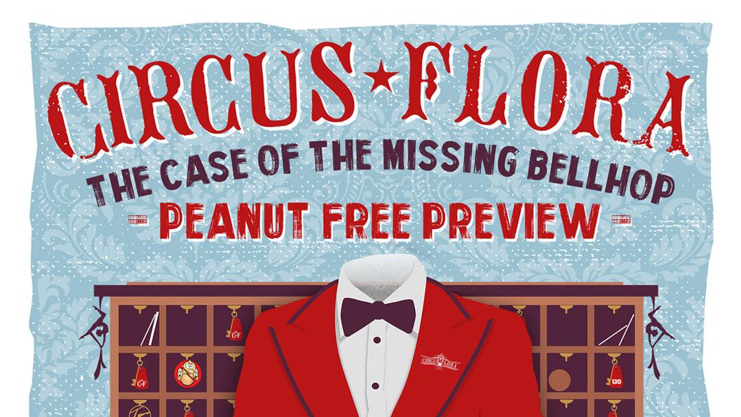 Circus Flora Peanut Free Performance Banner