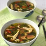 kale and shiitake tom yum