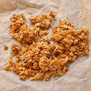 caramelised oats