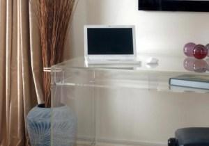 Acrylic Office Desk