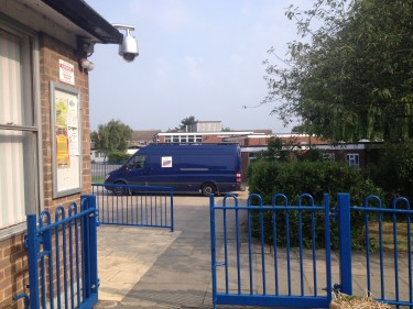 We arrive in vans not lorries - ideal for access to small entrances & built up areas