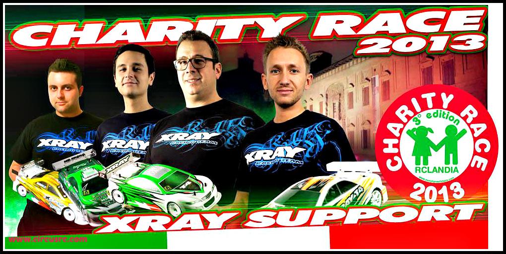 XRAY sera à la Charity Race de Scandiano, le 7/8 décembre. (Italie)