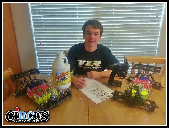 Hunter La Flower signe avec Team Losi Racing