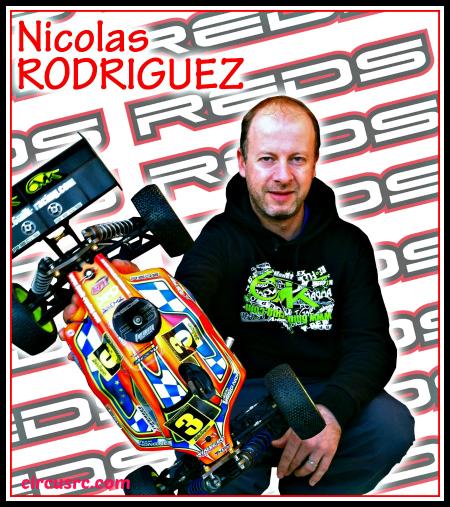 Nicolas Rodriguez roulera REDS en 2014