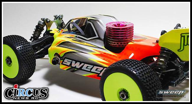 La carrosserie Sweep Birdie pour Mugen MBX7 se montre