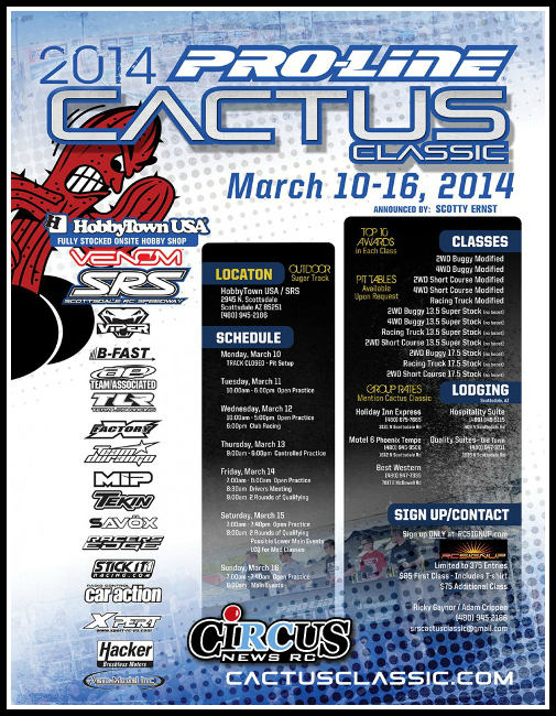 La 28ème édition de la Cactus Classic débute cette semaine
